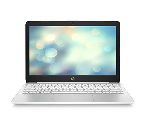 HP Stream 11-ak0099ng / 11-ak0011ng (11,6 Zoll / HD) Laptop (Intel Celeron N4000 dual, 4GB DDR4 RAM, 64GB eMMC, Intel UHD-Grafik 600, Windows 10 inkl. Microsoft Office 365 Personal) weiß