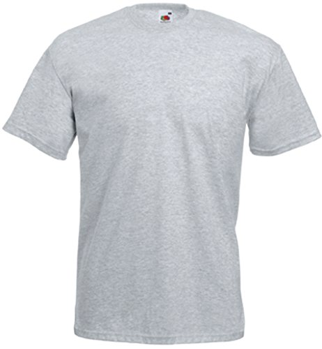 Fruit of the Loom Valueweight T-Shirt Graumeliert XL
